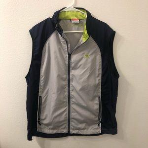 Champion lightweight vest gray blue XL